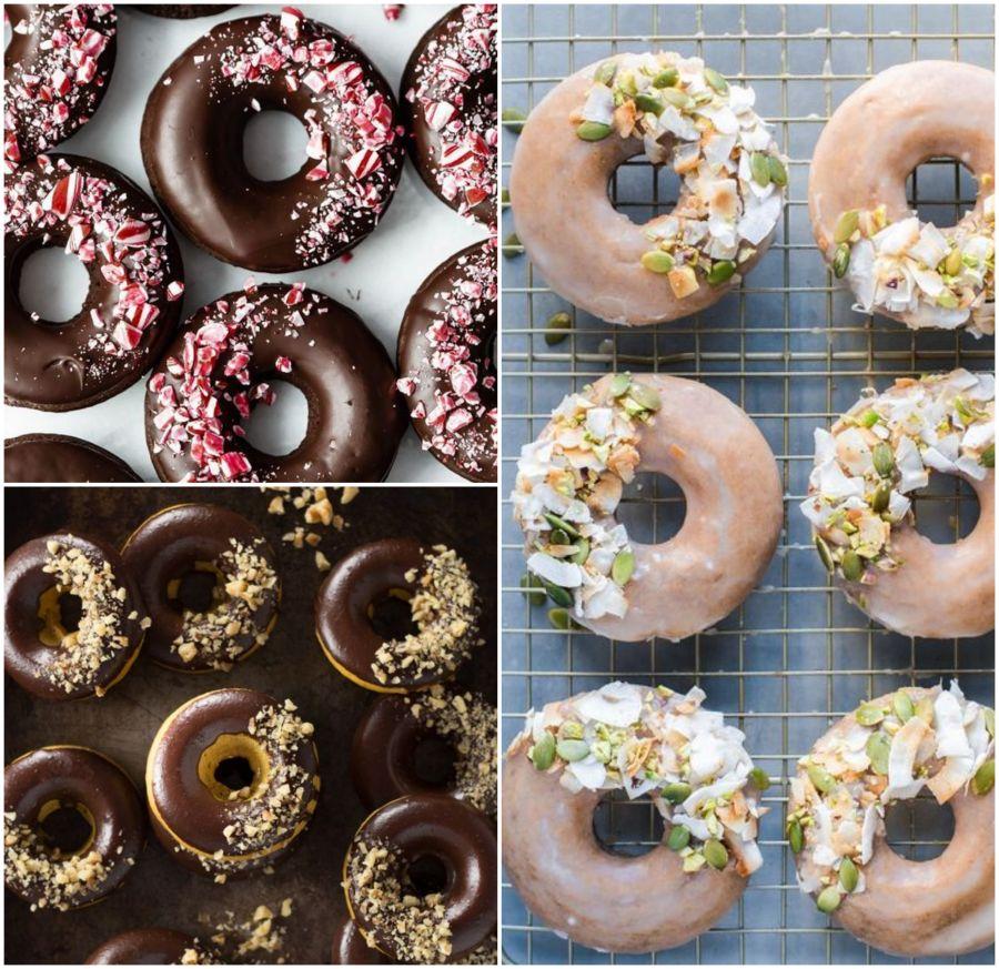 Čokoládové donuty na svatbu
