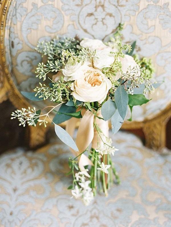 Jarní svatební kytice 2021