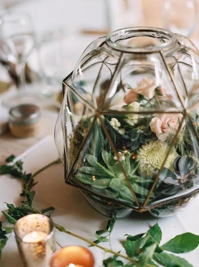 Svatební florárium