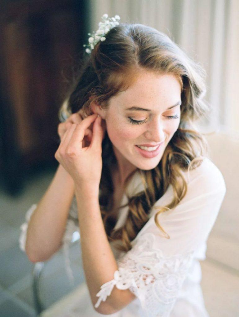 Líčení očí na svatbu
