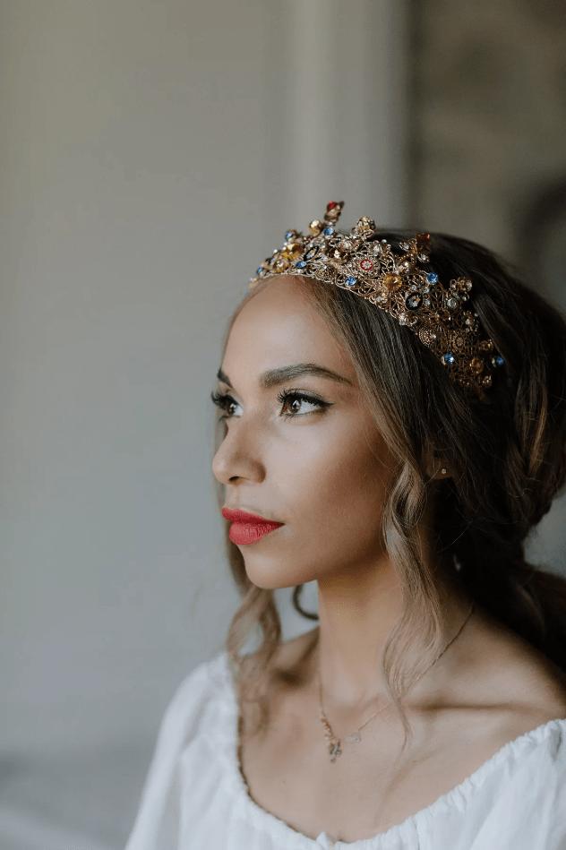 Líčení očí pro nevěstu
