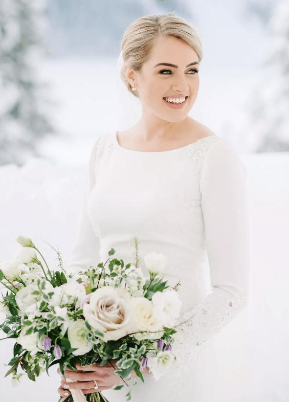 Svatební líčení očí