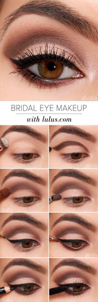 Tutorial na svatební líčení očí
