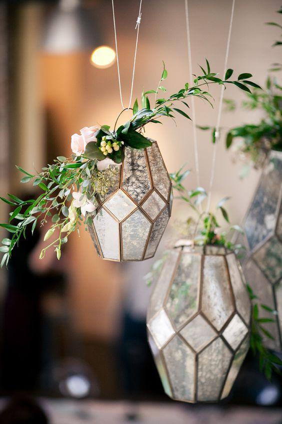 Svatební dekorace - florárium