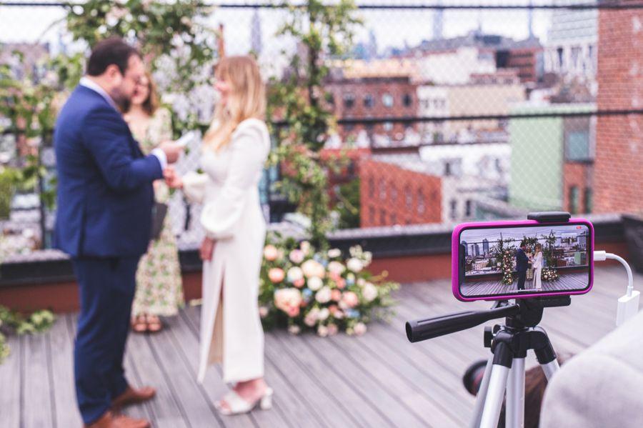 Virtuální svatba, online přenos svatby