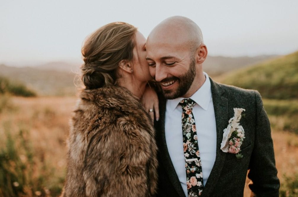 MOHO svatba, ženich v boho stylu