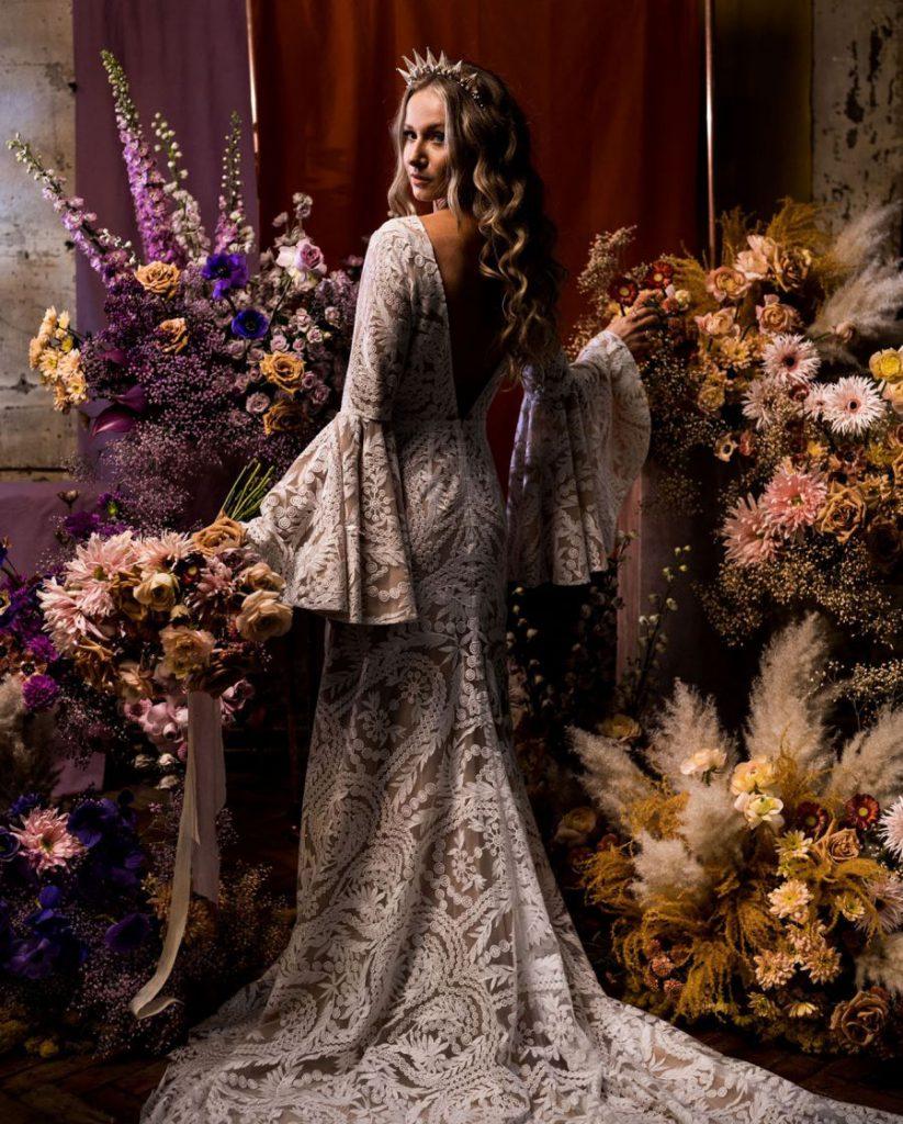 MOHO svatba, moderní boho styl, svatební trendy
