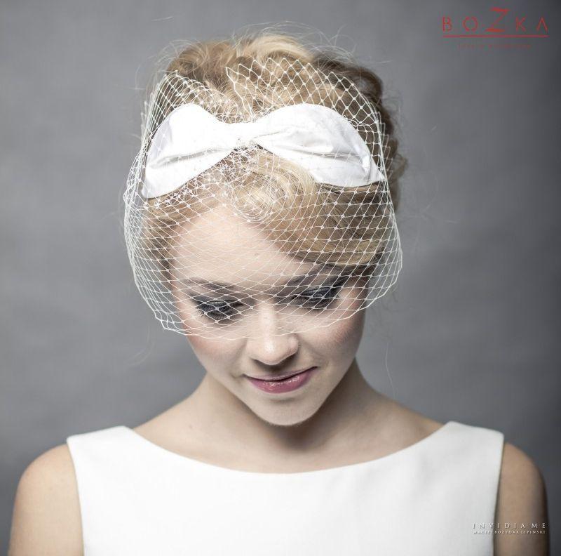 Birdcage závoj pro nevěstu