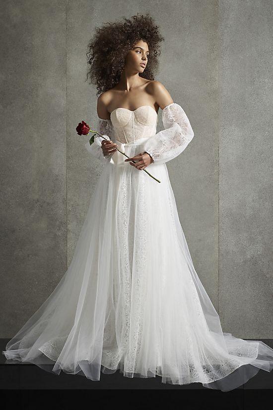 Venkovské svatební šaty, rustikální svatební šaty, cottagecore svatební šaty
