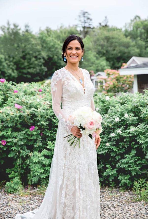 Vintage svatební šaty, svatební šaty na zahradní svatbu