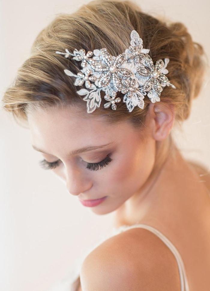 Hřebínek do vlasů na svatbu pro nevěstu