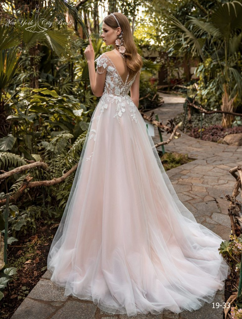 Cappuccino svatební šaty, béžové svatební šaty