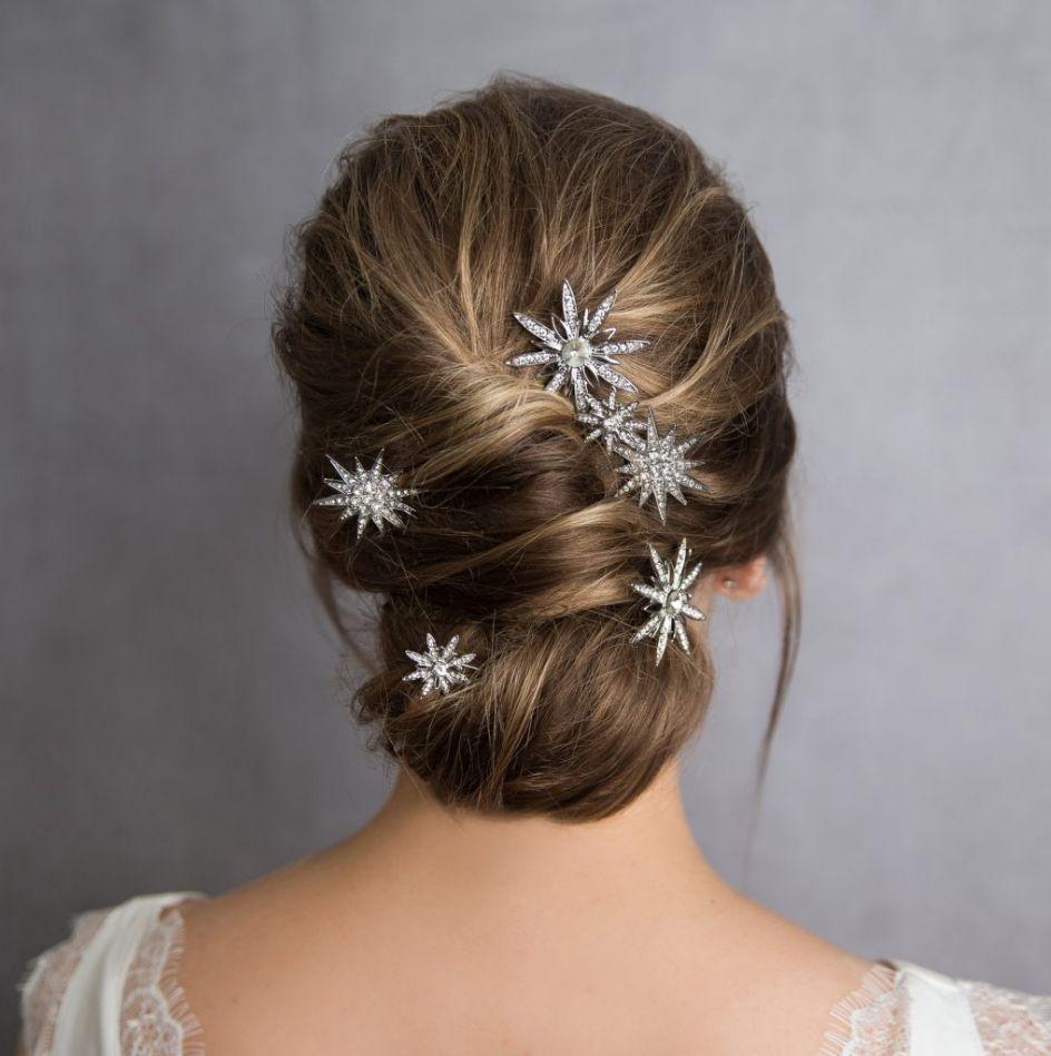Ozdoby do vlasů nevěsty, vlasové šperky na svatbu
