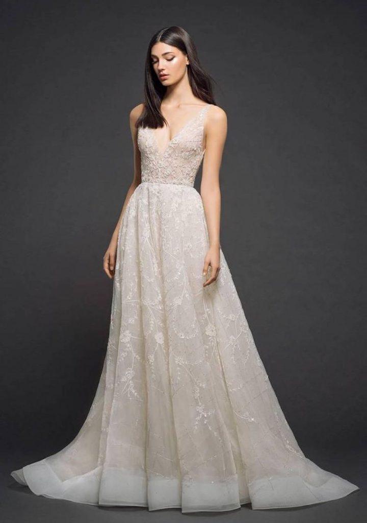 Svatební šaty barva ivory