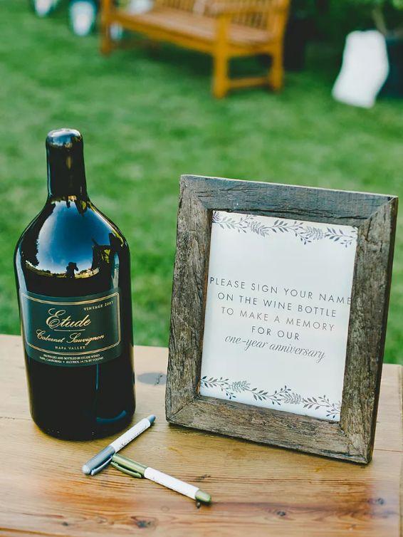 Kniha hostů, svatební dekorace