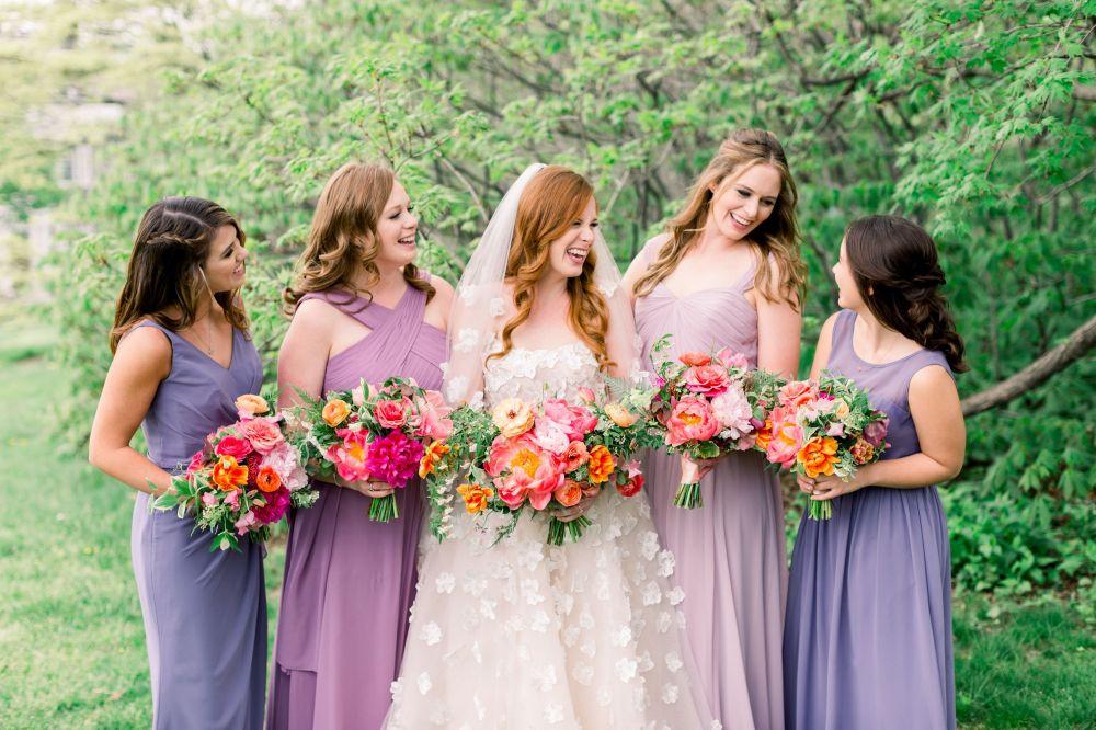 Letní svatební barvy, barvy pro letní svatbu, barevné kombinace pro letní svatbu