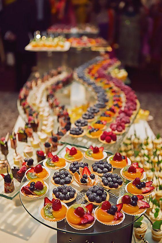 Tartaletky na svatbu