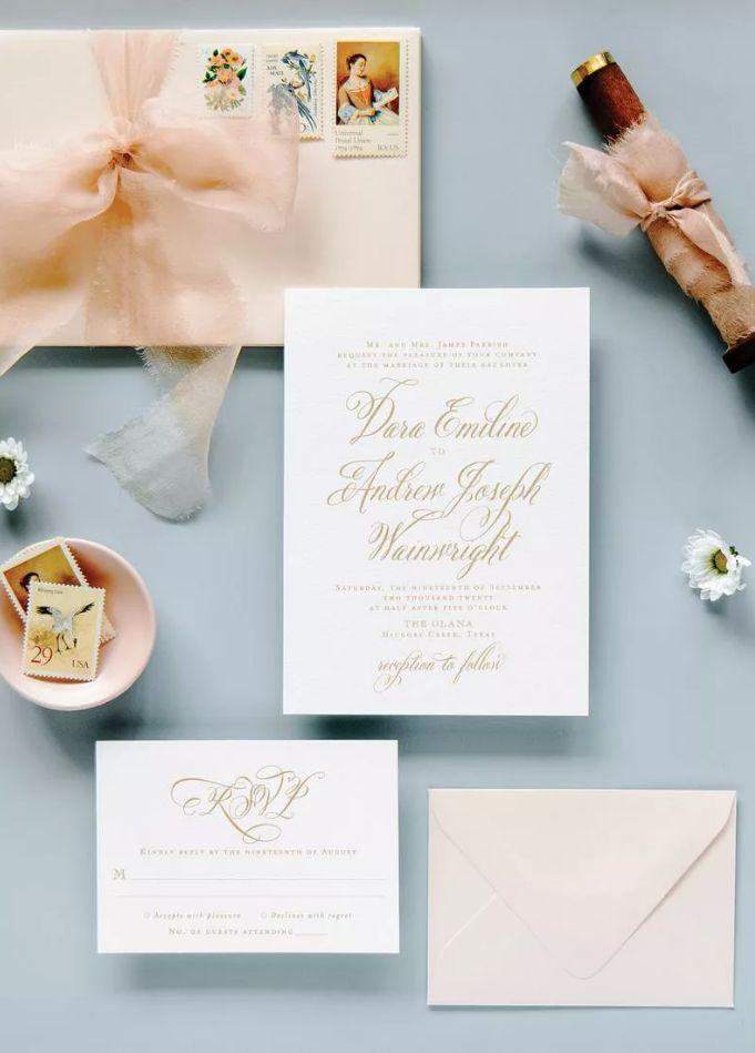 Elegantní svatební tiskoviny
