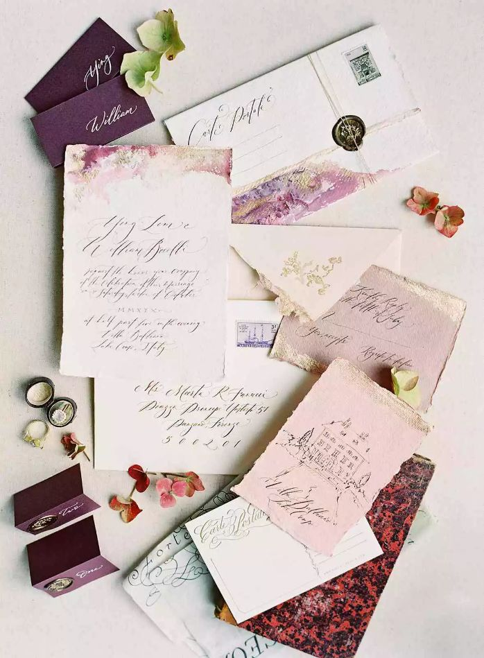 Elegantní svatební pozvánky