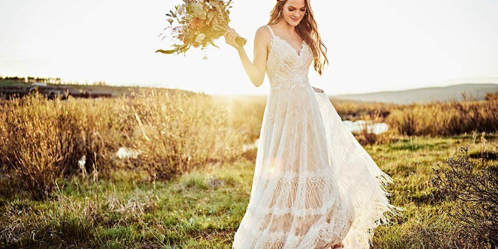Ekologické svatební šaty