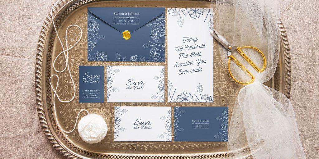 Elegantní svatební oznámení