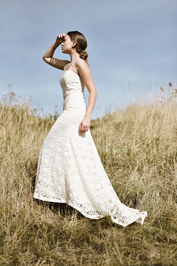 Slow fasion svatební šaty