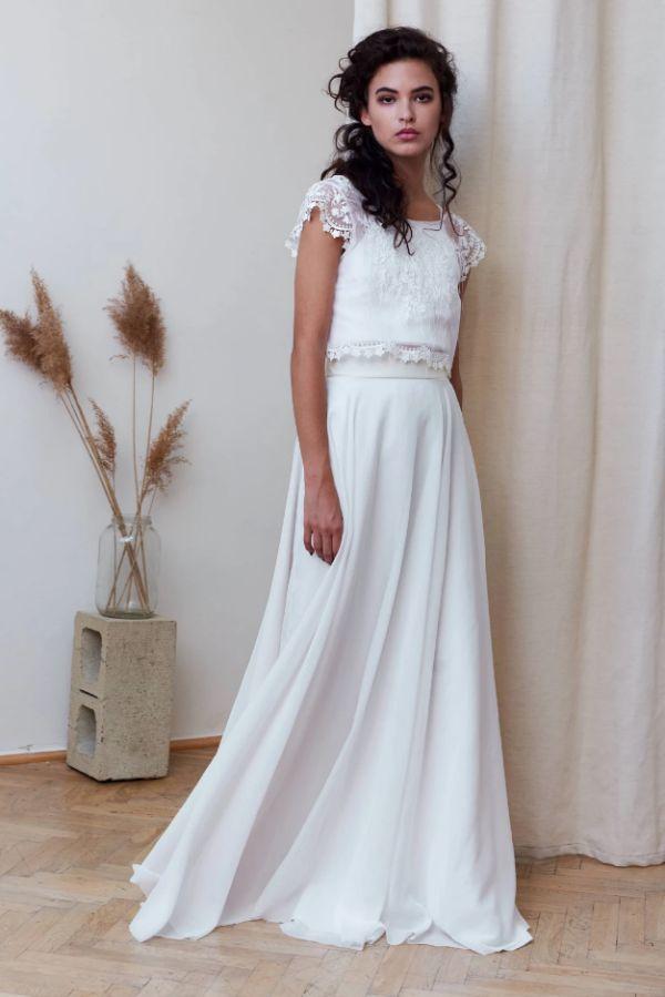 Eco-friendly svatební šaty