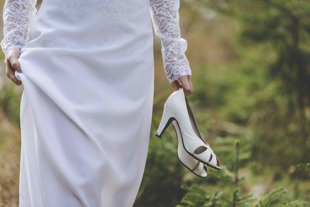 Udržitelné svatební šaty