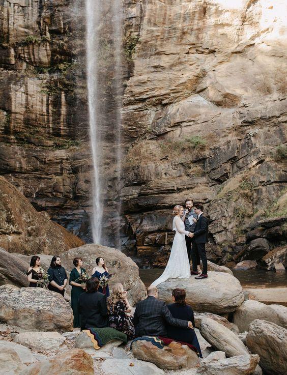 Malá svatba, přírodní svatba, svatba v přírodě