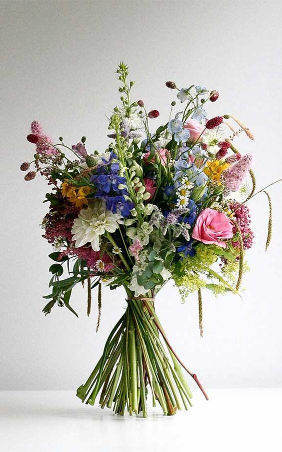 Letní svatební kytice