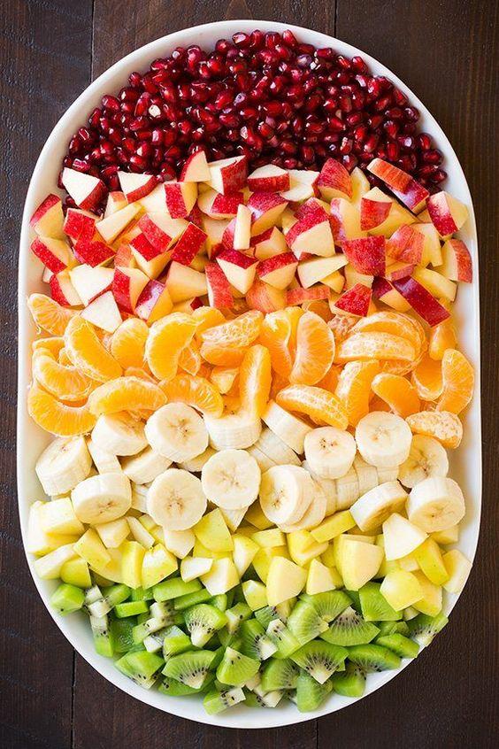 Ovocný salát na svatbu