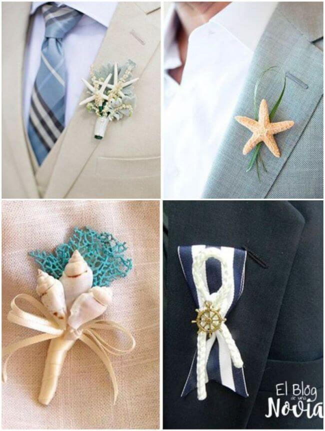 Svatební korsáž pro ženicha