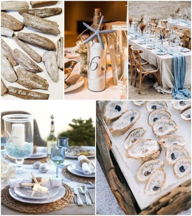 Svatební dekorace plážové