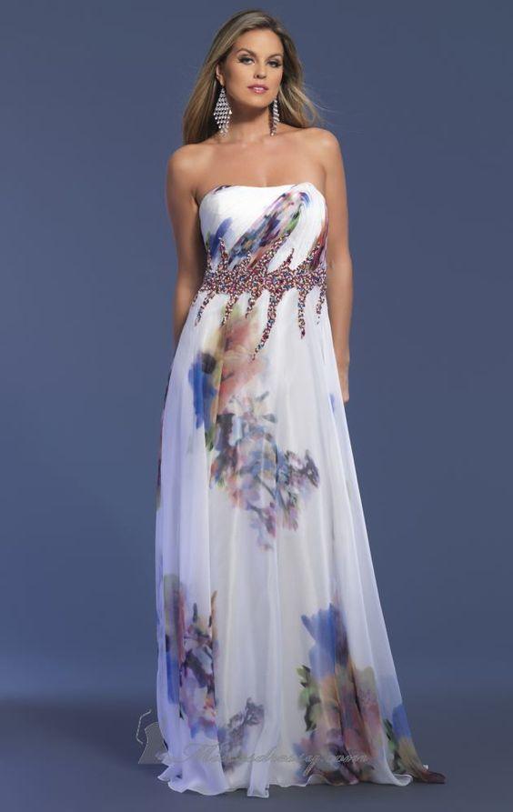 Květinové svatební šaty, svatební šaty s květinami