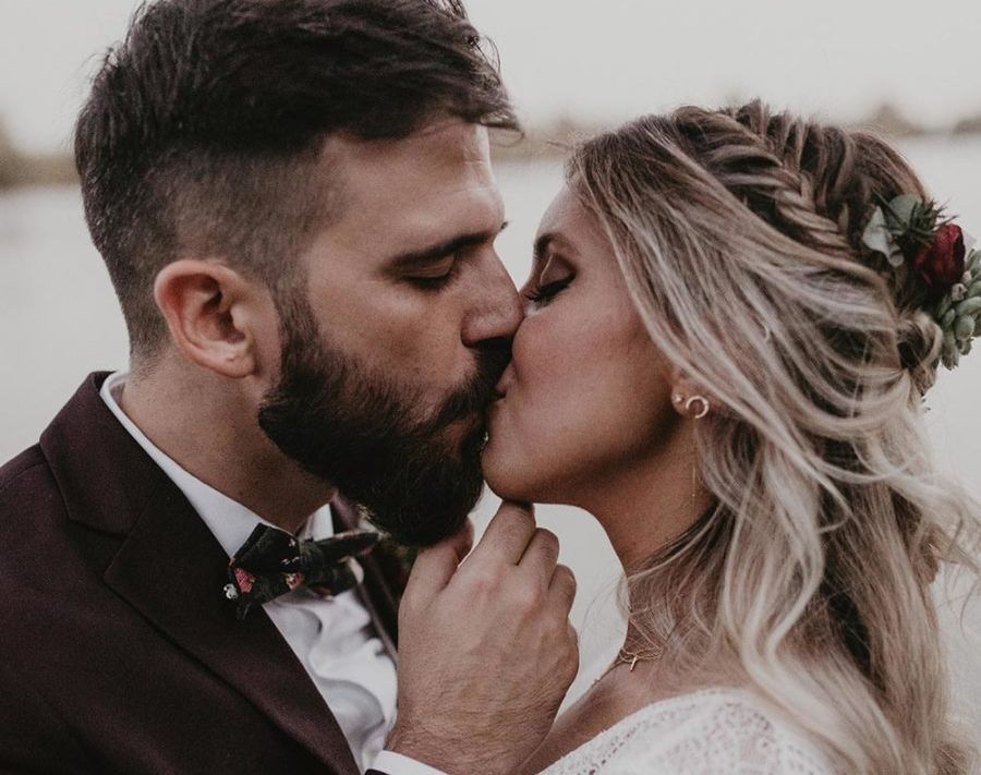 Svatební účesy z copů