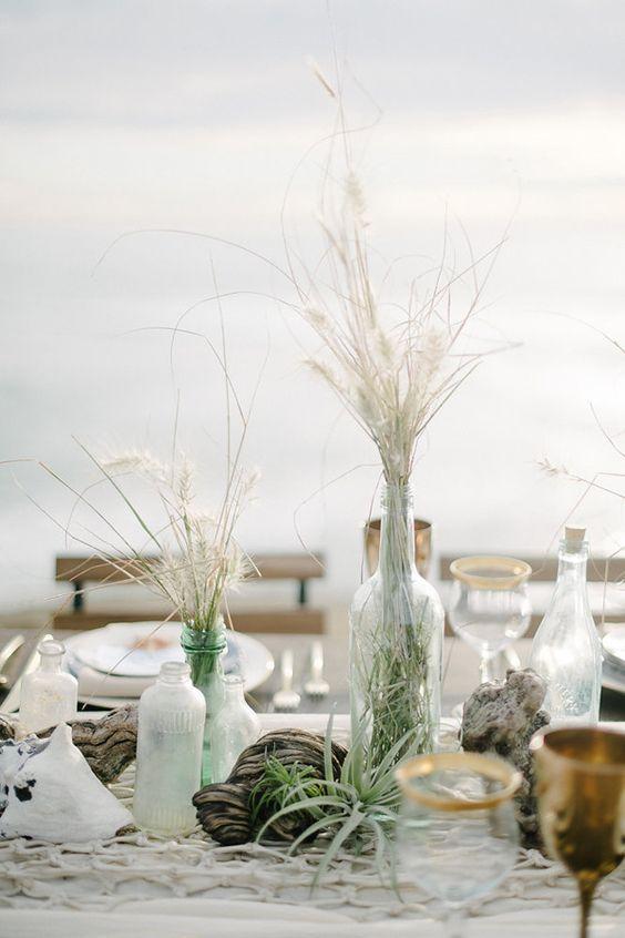 Plážové svatební dekorace