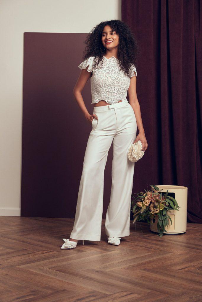 Kalhoty pro nevěstu