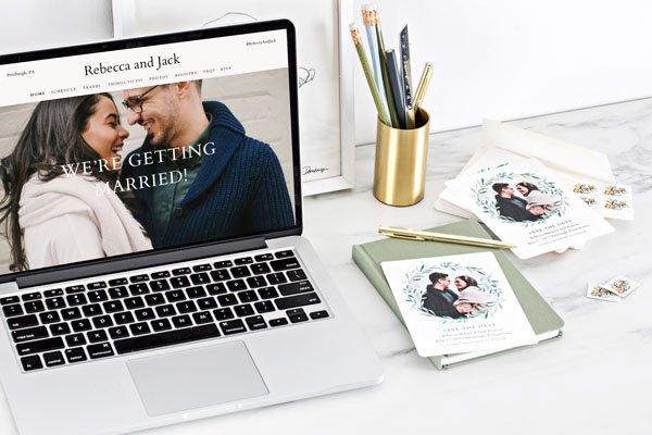 Elektronická svatební oznámení