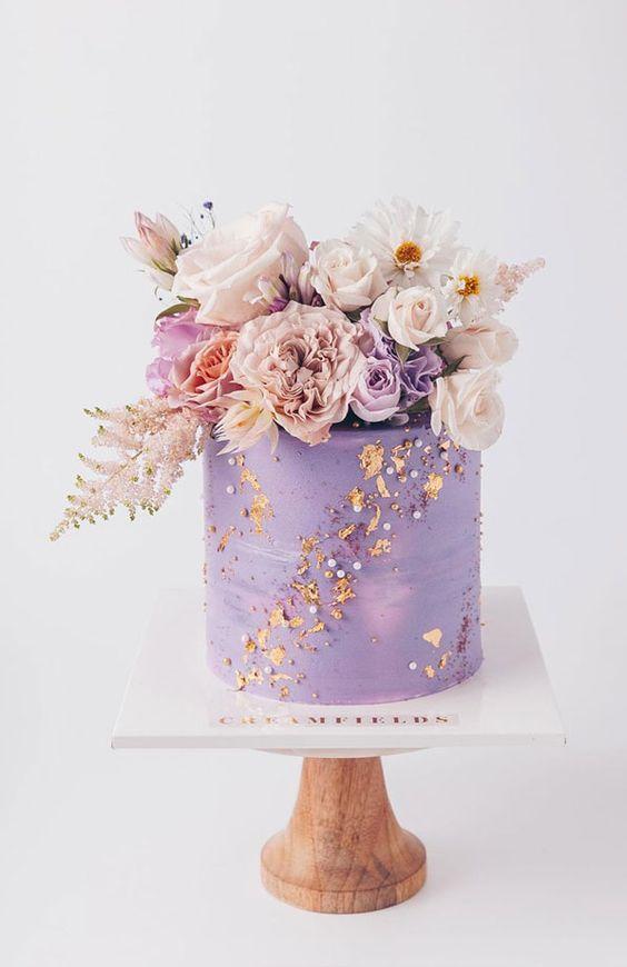 Svatební dort na minisvatbu