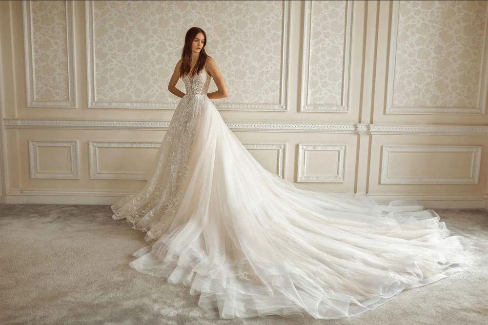 Galia Alahav, svatební šaty, kolekce podzim/zima 2021