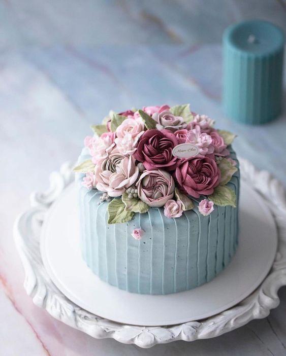 Malý svatební dort na malou svatbu