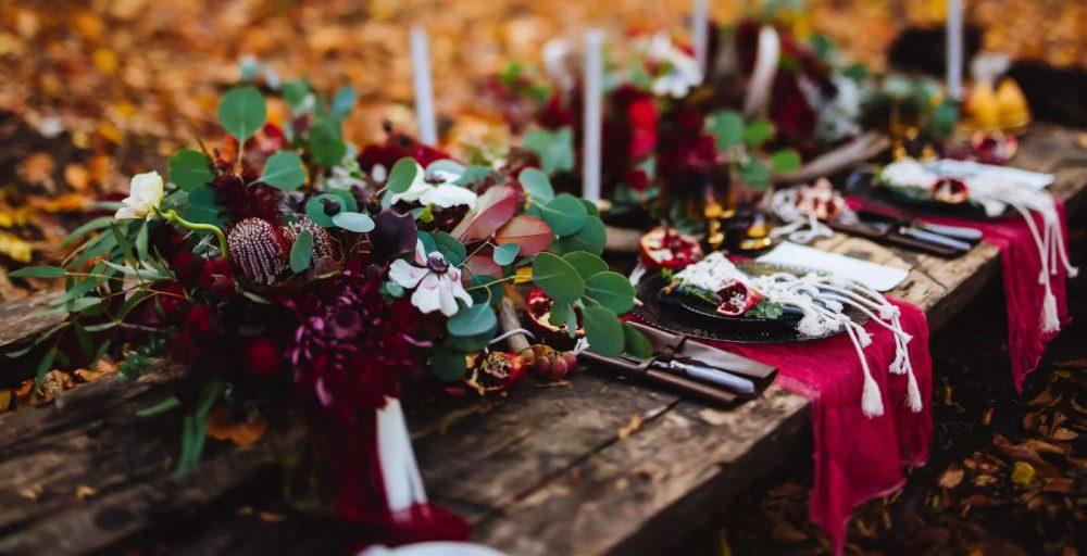 Podzimní svatební barvy 2021