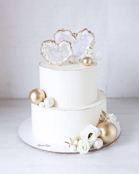 Svatební dort na malou svatbu