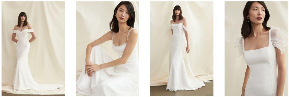 Svatební šaty Savannah Miller podzim zima 2021