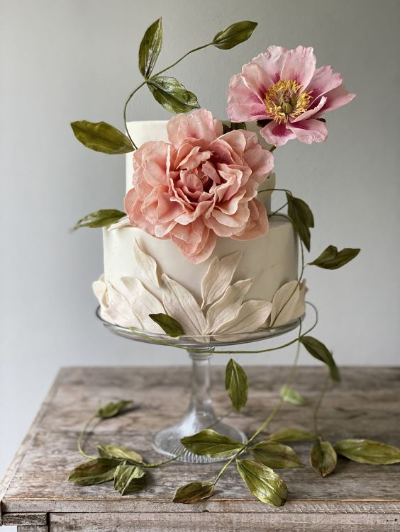 Svtaební dort na malou svatbu.