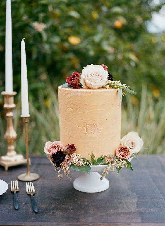 Svatební dort na mikrosvatbu